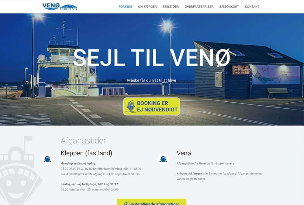 wp hjemmeside design