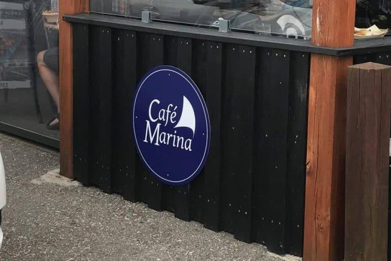 cafemarina skilt
