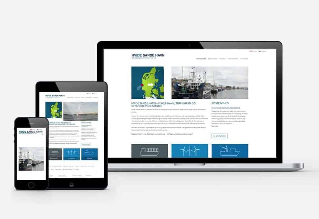 cms hjemmeside