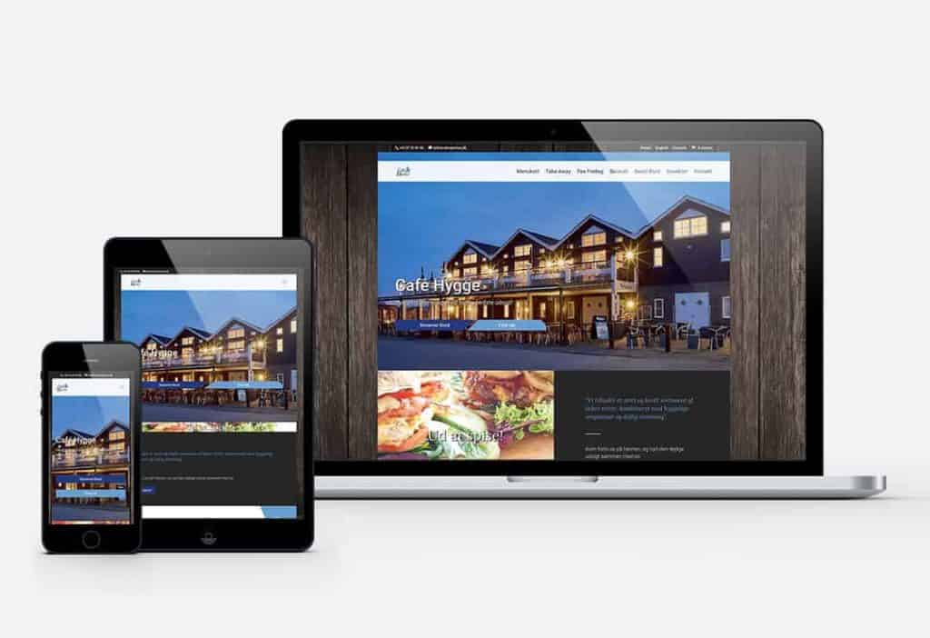 Cafe marina hjemmeside