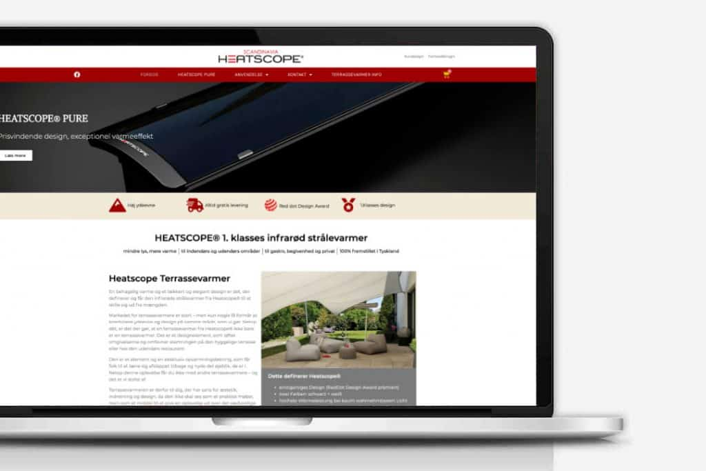 Heatscope Terrassevarmere